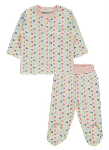 Civil Baby Civil Baby Kız Bebek Pijama Takımı 3-6 Ay  Pudra Civil Baby Kız Bebek Pijama Takımı 3-6 Ay  Pudra Pudra